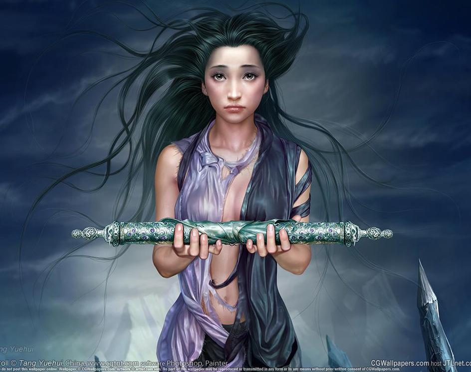 Scrollby Tang Yuehui