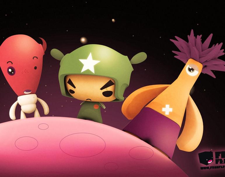 Alien Teamby Fran Ferriz