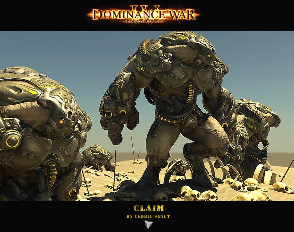 Dominance War IV Wallpaper: 'Claim'by Cedric Seaut