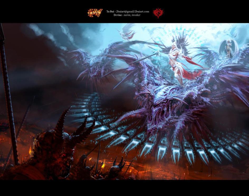 Dominance War IV Wallpaper: 'Devine'by Tu Bui