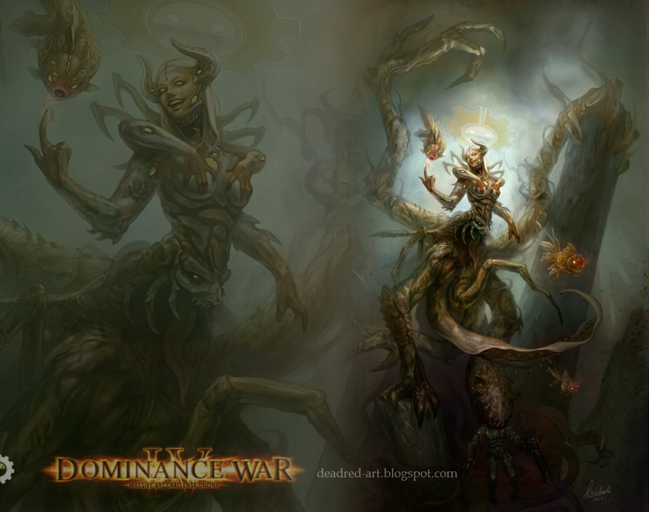 Dominance War IV Wallpaperby Michele Chang