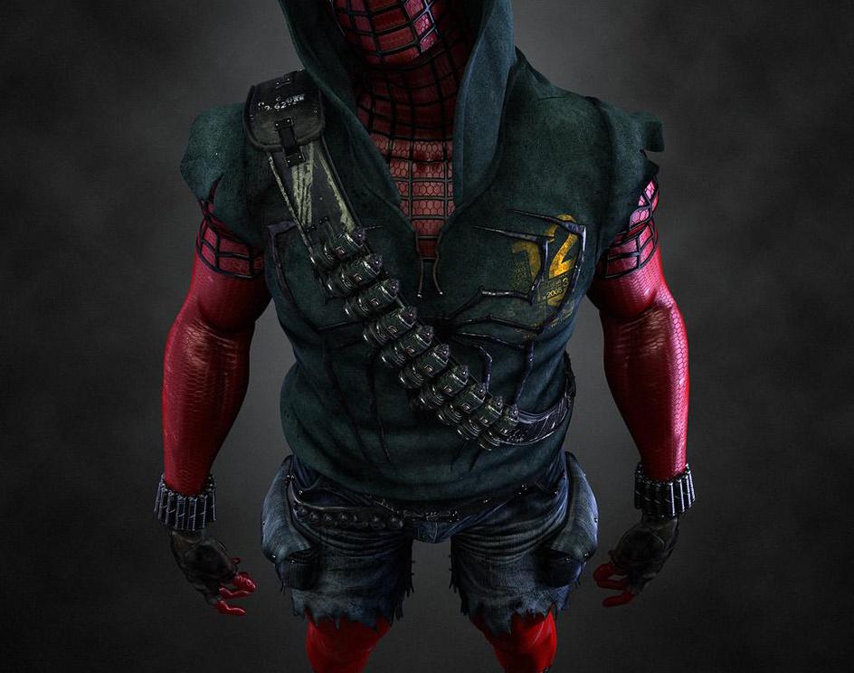 Scarlet Spidermanby ZenMan