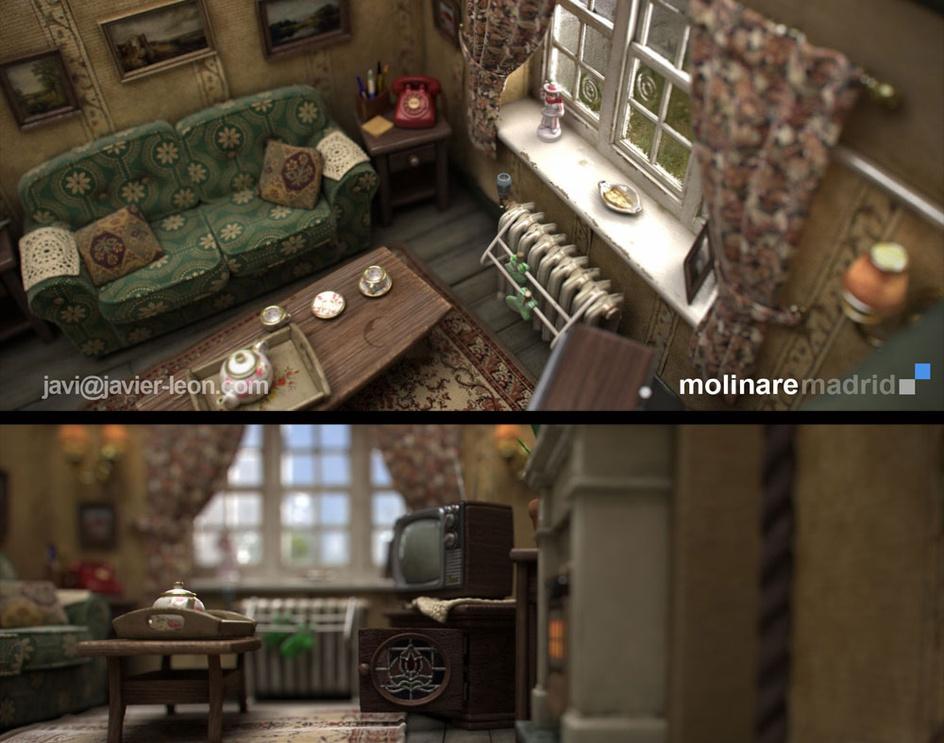 Stopmotion Set (CG)by Javier Leon