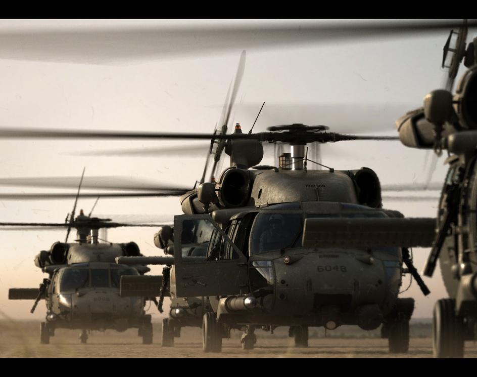 'HH-60G Pave Hawk Engine Warmup'by ACantarel