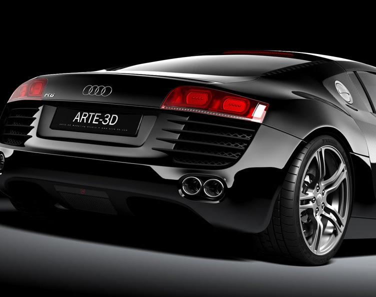 'Audi R8'by Arte_3D