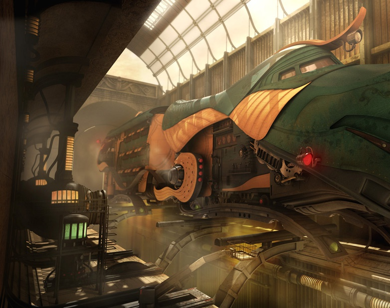 'Hornbill Express'by Tiong-seah Yap