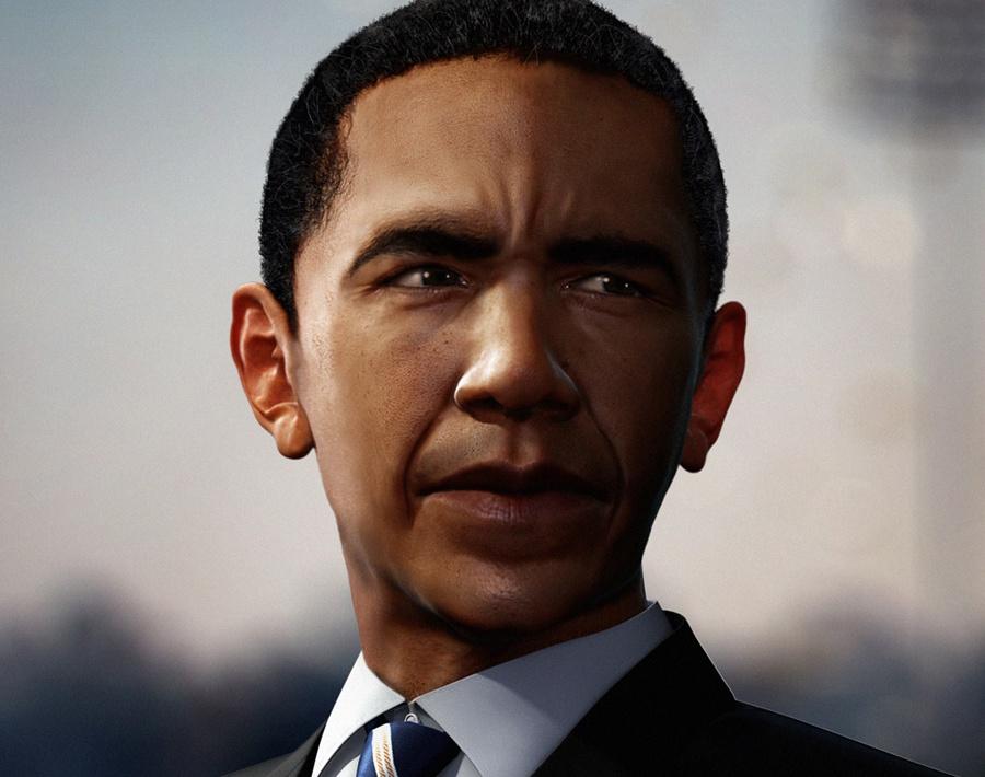 'Barack'by Patrick Harboun