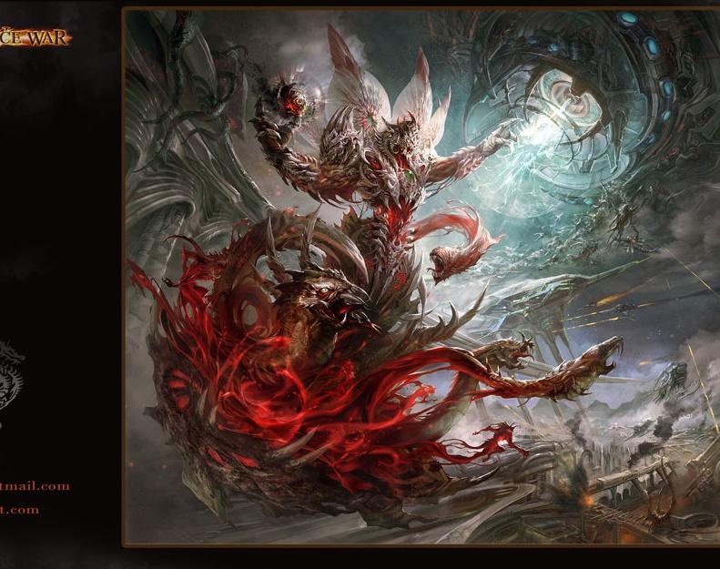 Dominance War IV Wallpaperby Guangjian Huang