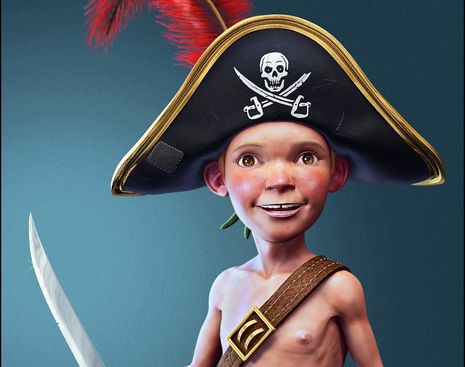 Young Pirate !by Titouan OLIVE