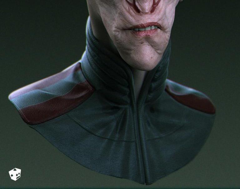 Alien General bustby Christopher Brändström