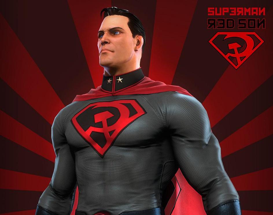Superman Red Sonby Simone Corso