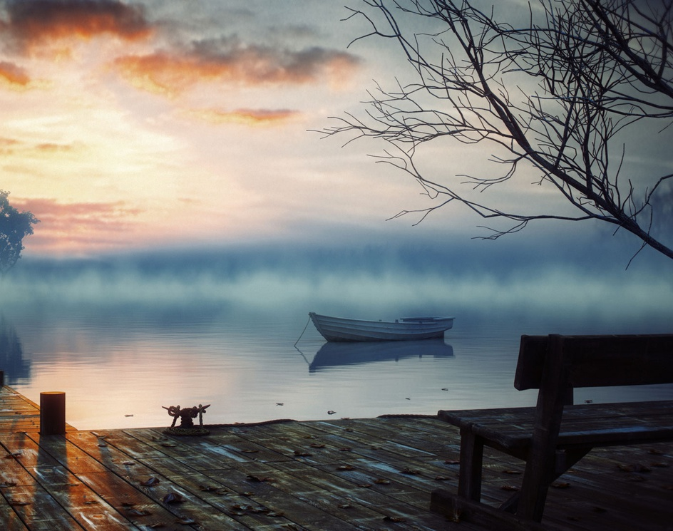 Lost Boatby Peyman Mokaram