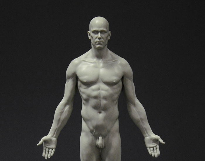 Full skin male reference figureby 3dtotal staff