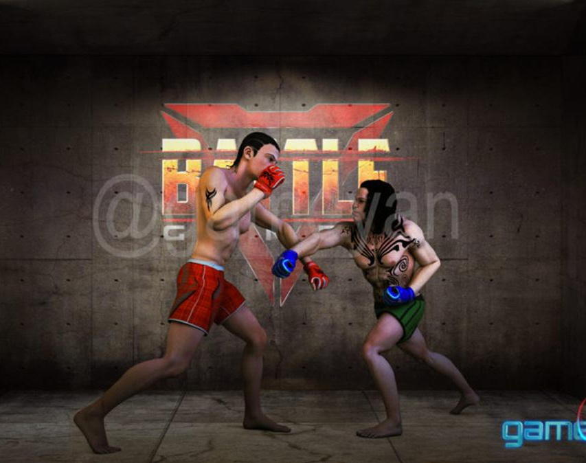 Multiplayer – 3D iOS Mobile MMA fight Game Development by Gameyan 3d mobile game development studio Los Angeles, USAby GameYan