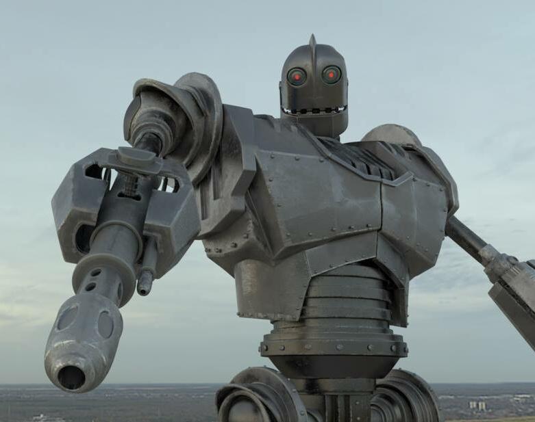 Iron Giant battle modeby garytang
