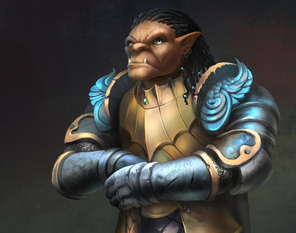Gauwyn: Half-Orc Fighterby Ferdinand D. Ladera