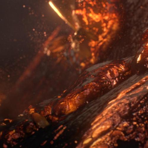 lava rock disease 3d