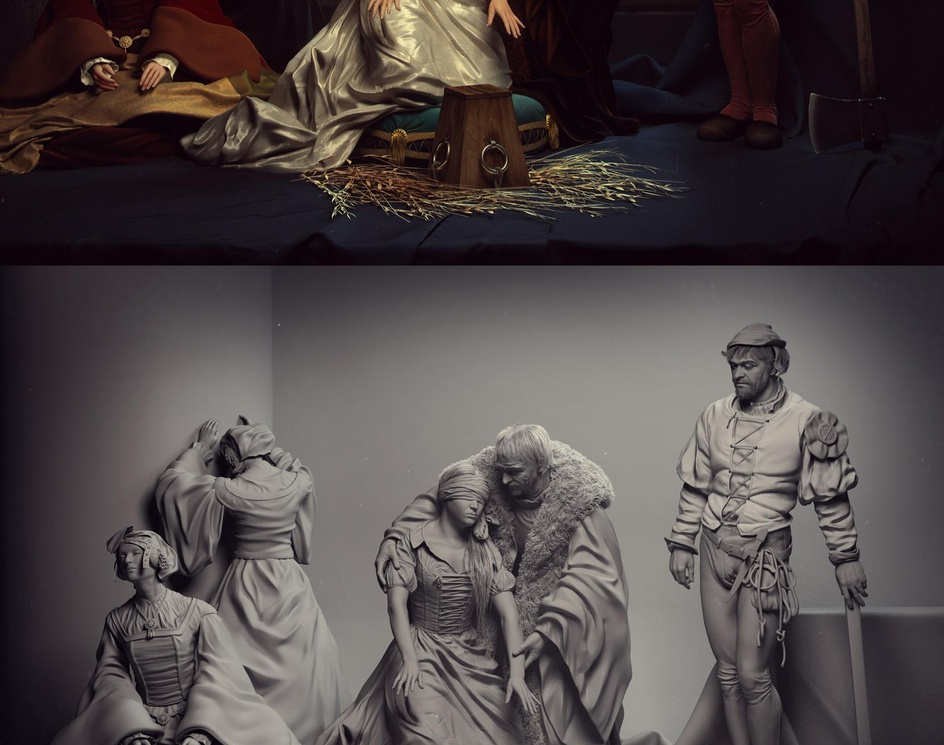 The Execution of Lady Jane Grey,The tribute.by george0280