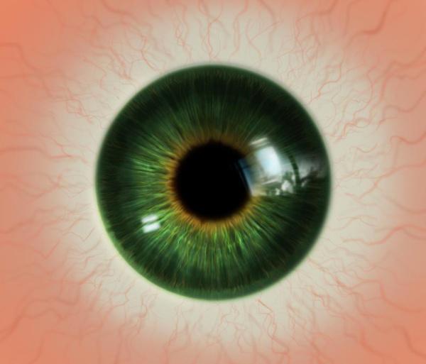 realistic eye texture tutorial model render 2d illustration