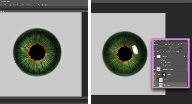 Realistic Eye Texture Painting · 3dtotal · Learn | Create