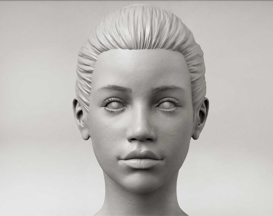 Girl Sculptby Davide Sasselli