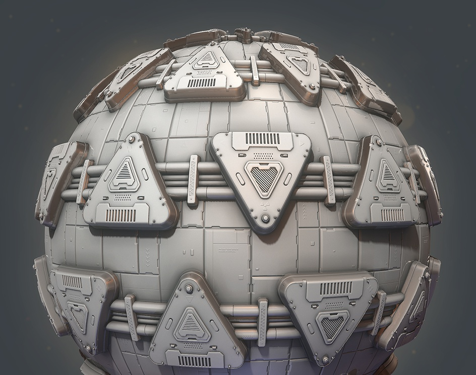 Sci-Fi Panels - Substance Designerby Guilherme Marconi