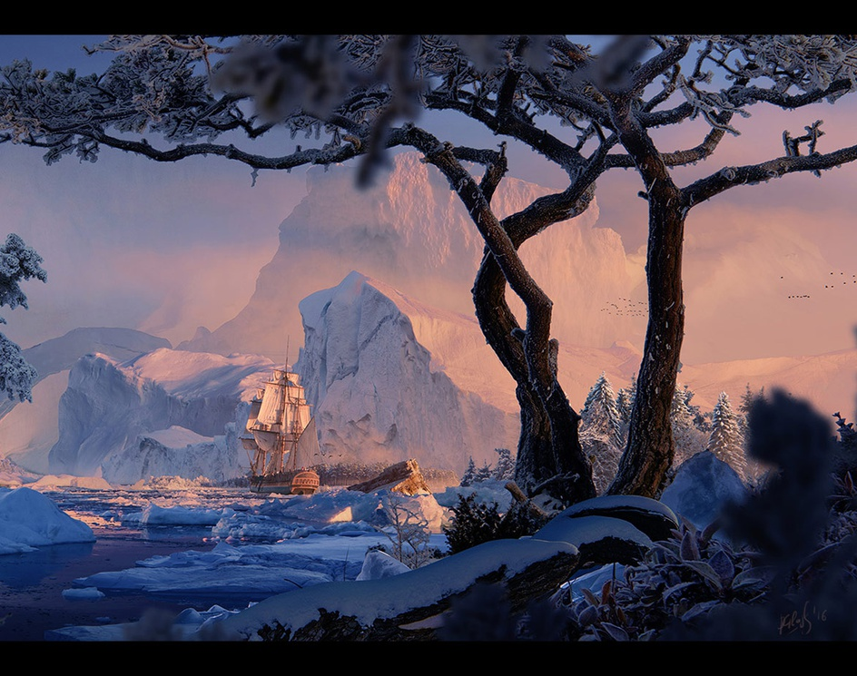 Frozen Worldby glazyrin
