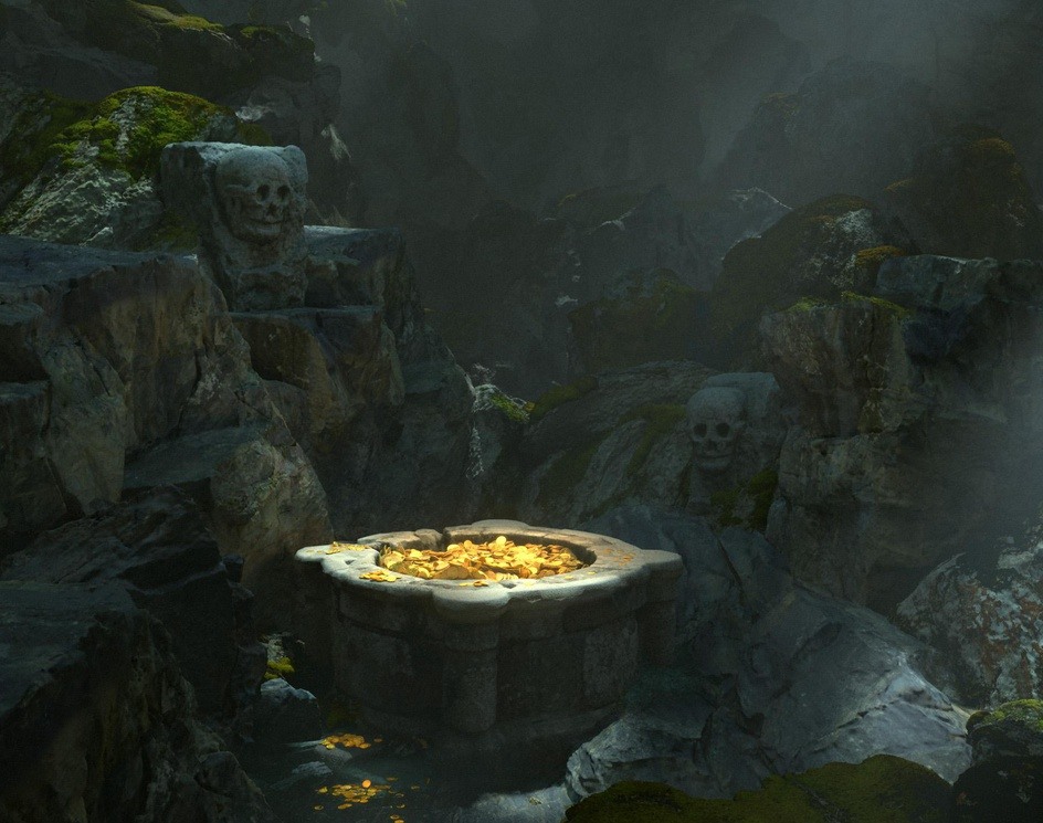 Goblin's Caveby dragos jieanu
