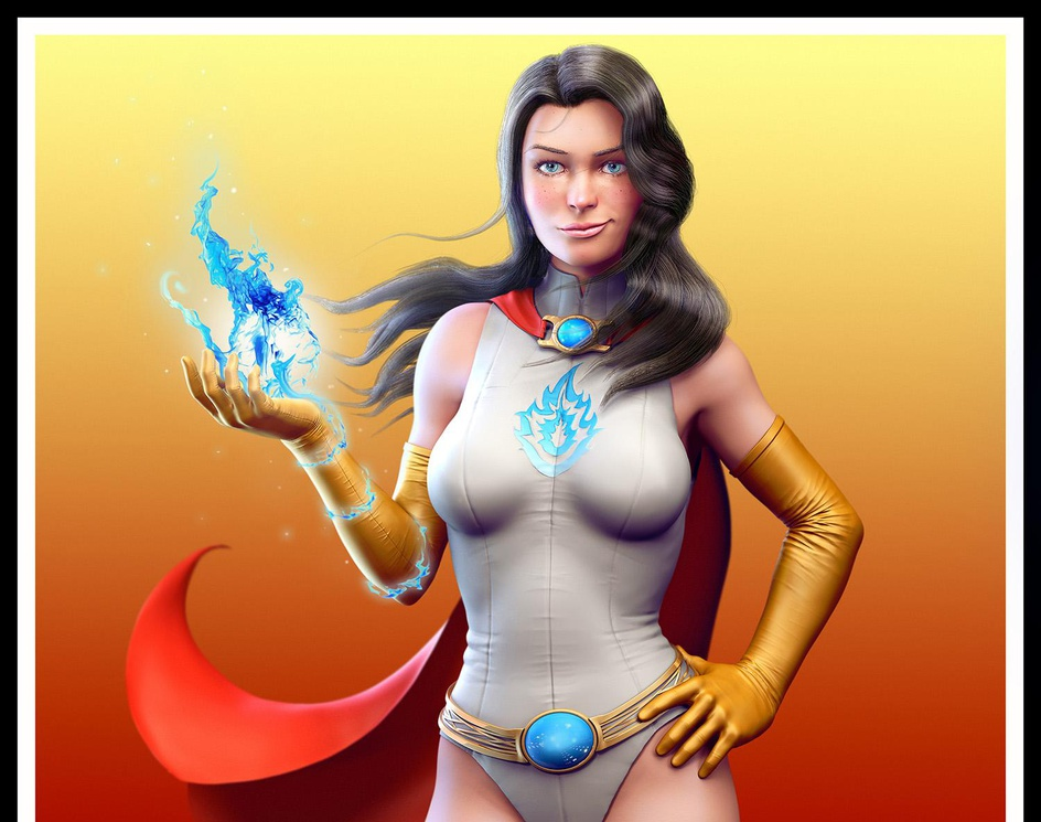 Super heroineby Gopher