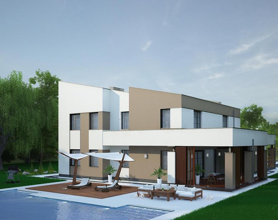 Stylish houseby Archviz.Studio