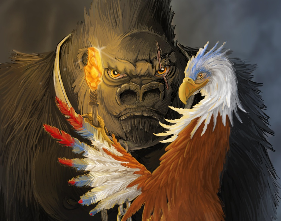 Gorilla warriors - steppes eaglesby Maycon Chaves