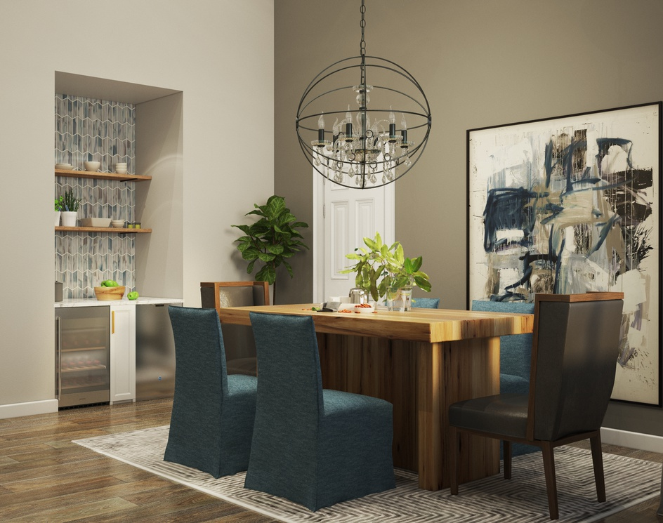 Cozy diningroomby Archviz.Studio