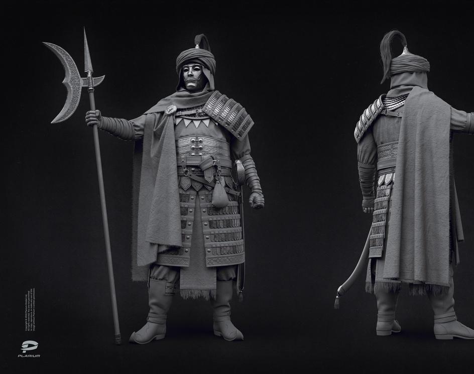 Saracen warriorby oleg_bozhko