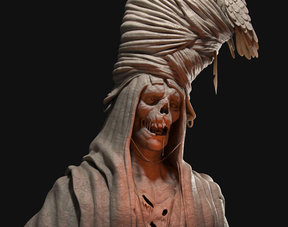 The Turban Mummyby Gustavo Medeiros