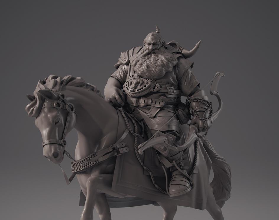Warrior Dwarfby gustavorios2