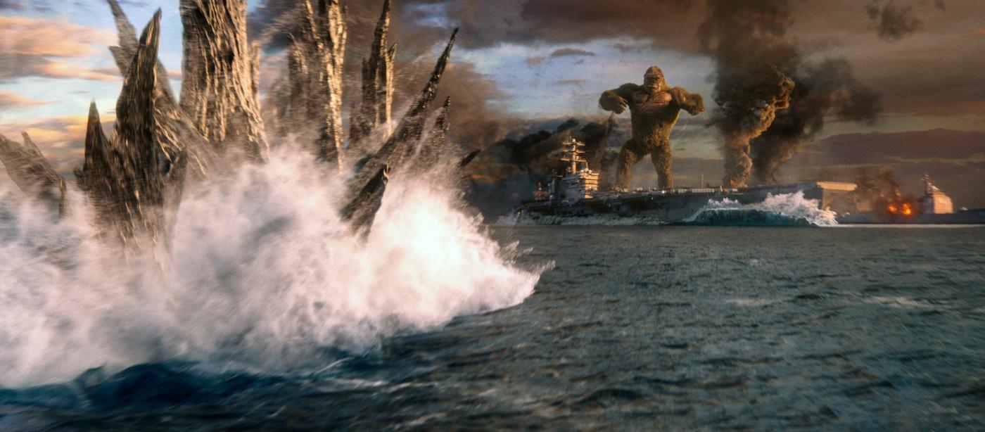 godzilla kong sea ocean fight sequence cgi vfx movie