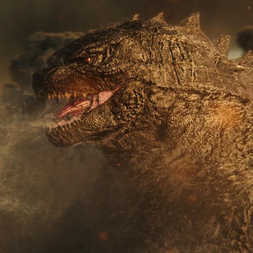 reptilian monster 3d model design gci godzilla