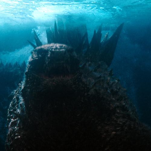 godzilla underwater film cinematography chained monster film