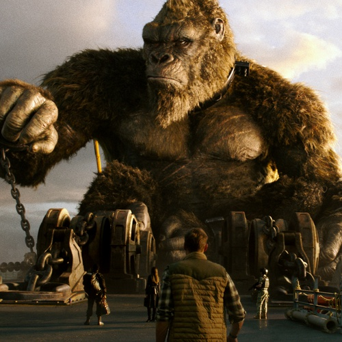 king kong primate film cinematography chained monster film