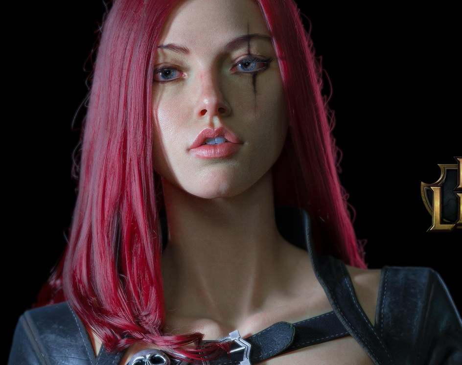 Katarina_League of Legends fan artby chenken