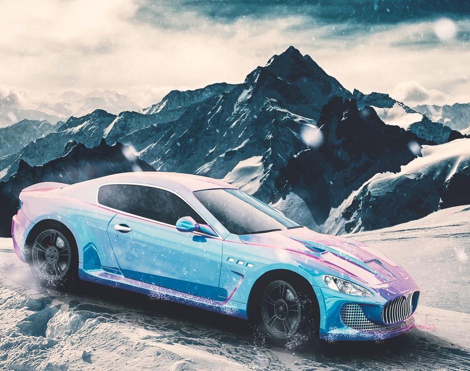 Winter Maseratiby hamed mahzoon