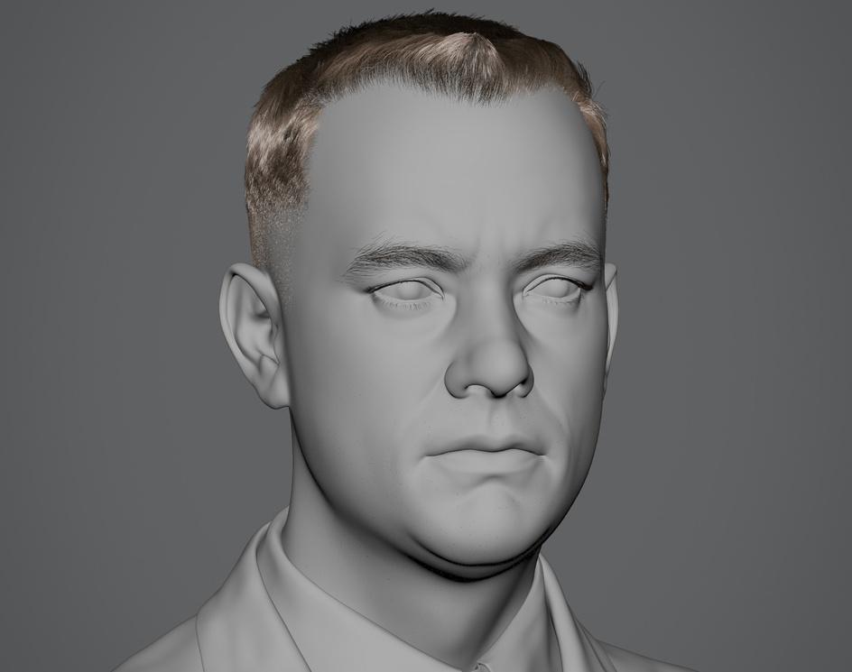 Tom Hanks (Forrest Gump)by Hadi Karimi