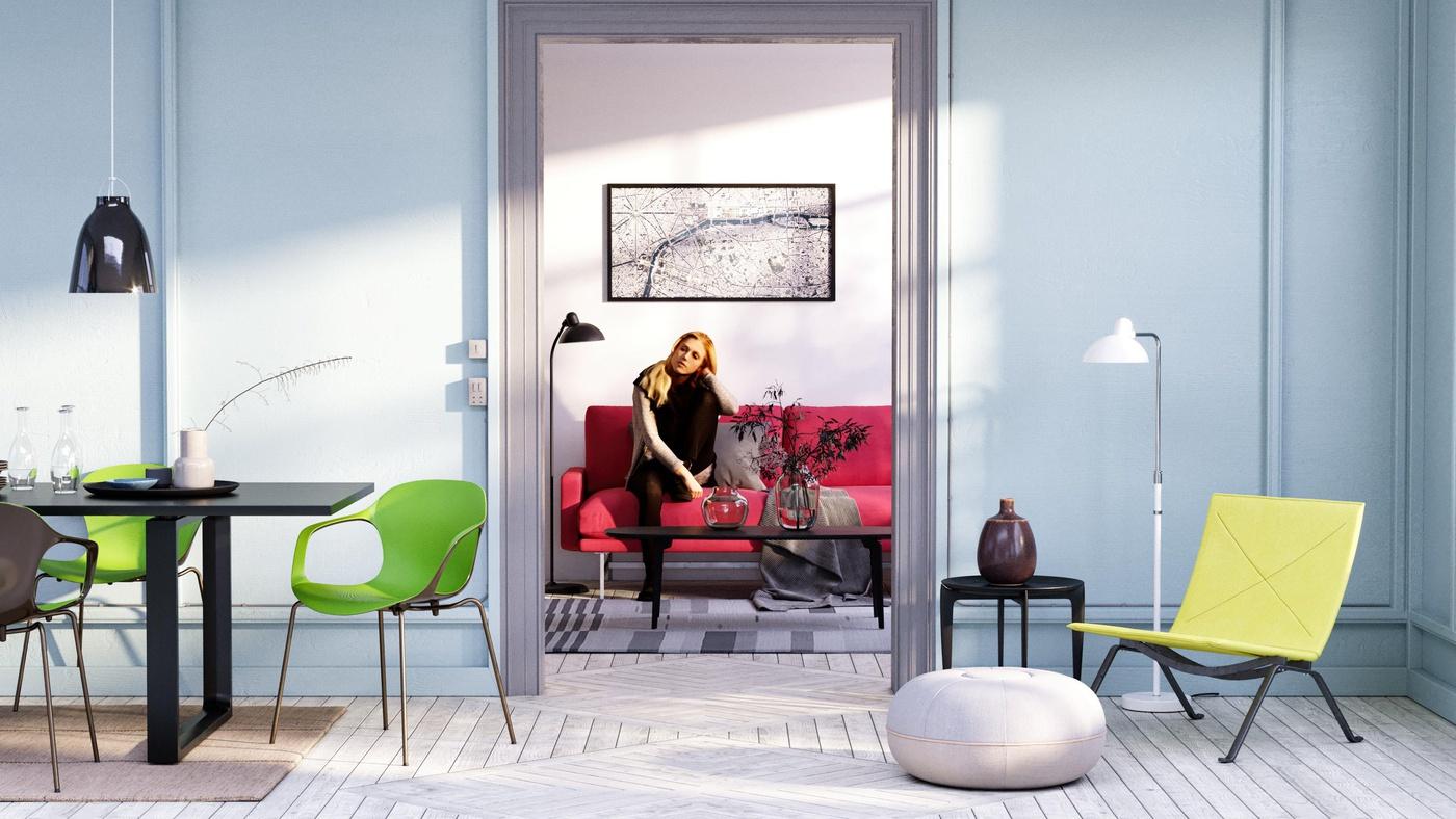 artistic colour scheme