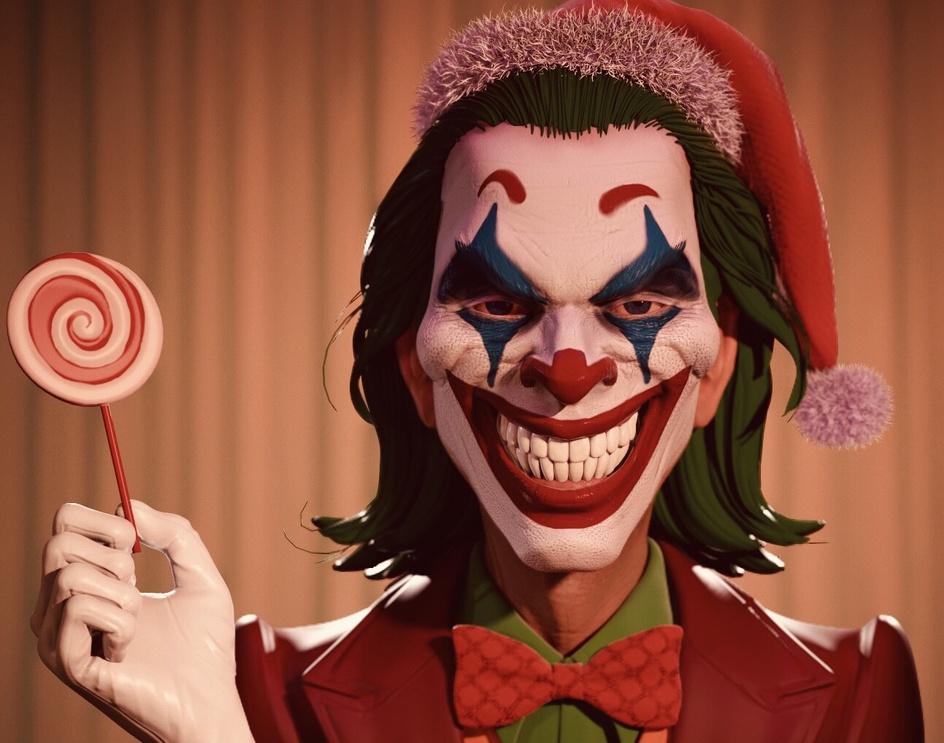 Joker Fan Artby harnain singh