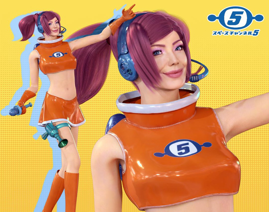 Space Channel 5 20th anniversary tributeby Johnny Grilo