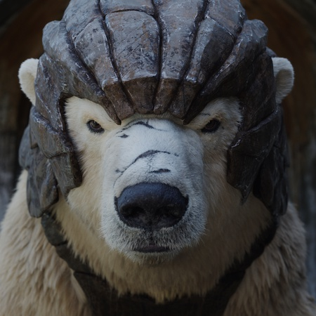his dark materials polar bear cgi
