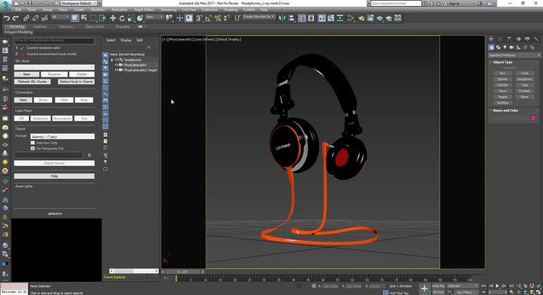 light effects headphones