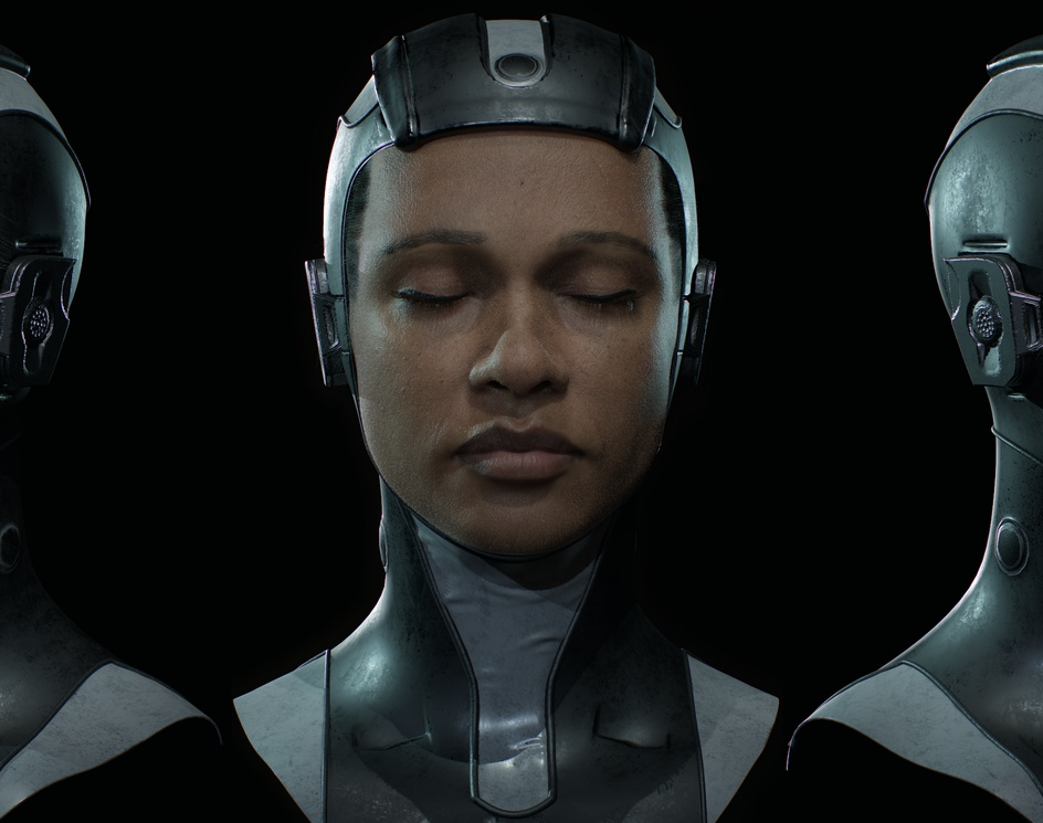 Aisha - Real Time Characterby Nick Shepperd