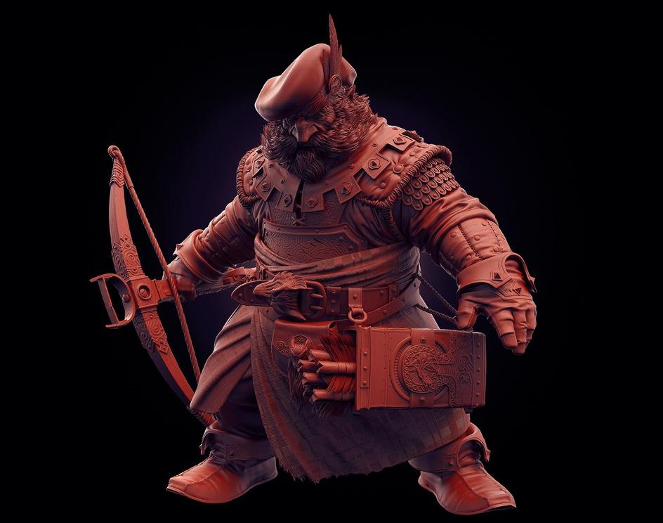 Crossbow Dwarfby henriquedw