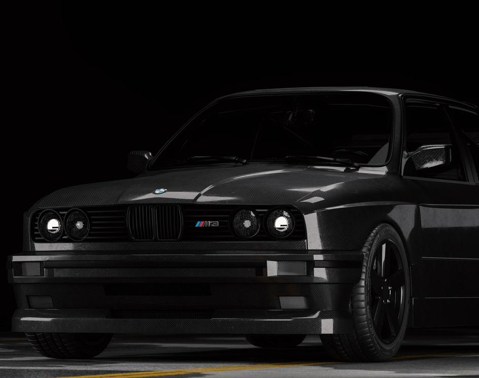 BMW E30 //Carbon Fibre//by Grafoholics